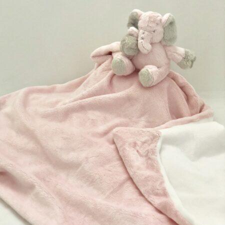 Ellie Baby Blanket - Pink