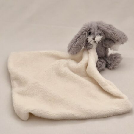 White Dou-Dou with Grey Bunny - Pic