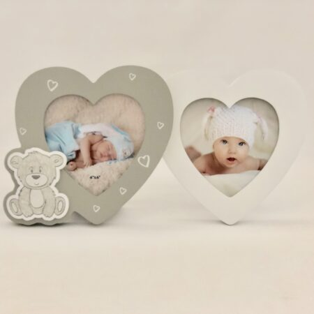 Wooden Heart Picture Frames