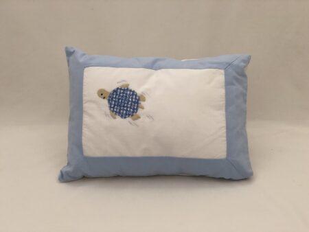 Blue Turtle Pillow Slip
