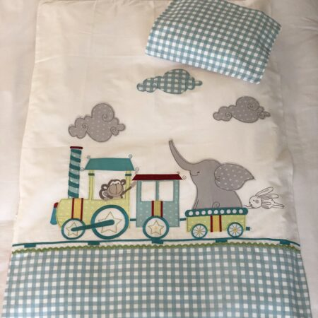 Chook-A-Train Duvet Cover Set - Pic