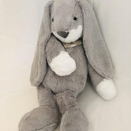 Grey Plush Bunny - 45cm