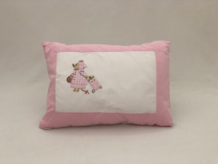 Pink Mouse Pillow Slip