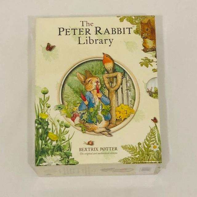 THE PETER RABBIT LIBRARY SET OF 10 BOOKS - BEATRIX POTTER
