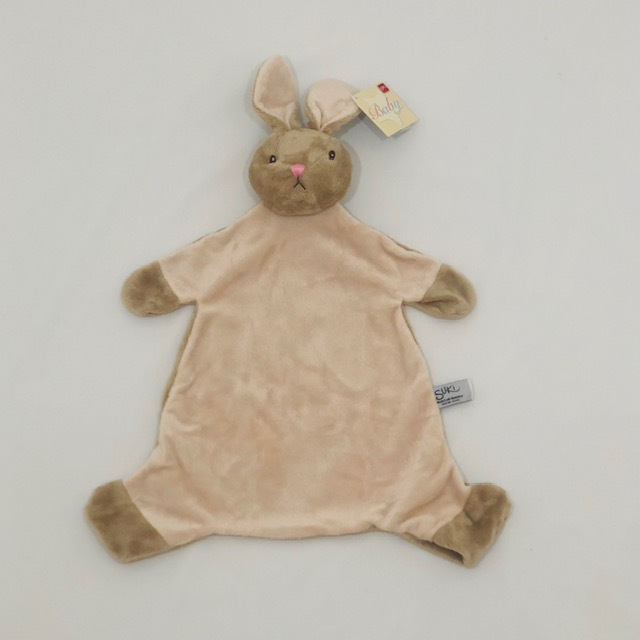 BEIGE BUNNY SECURITY BLANKET