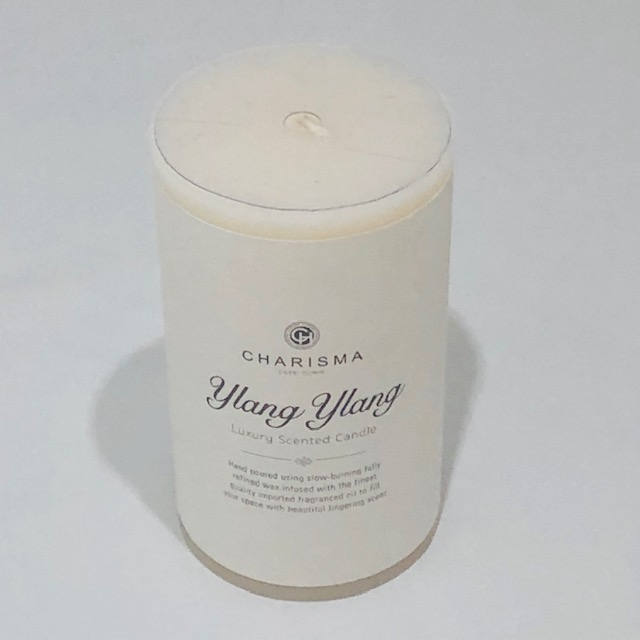 CHARISMA LUXURY YLANG YLANG SCENTED CANDLE 15CM