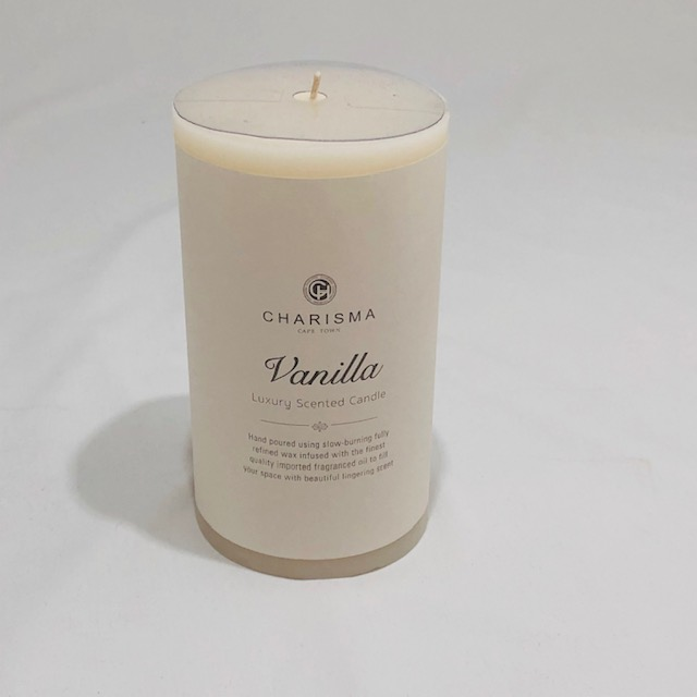 CHARISMA LUXURY  VANILLA SCENTED CANDLE 15CM