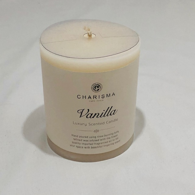 CHARISMA LUXURY VANILLA SCENTED CANDLE 10CM