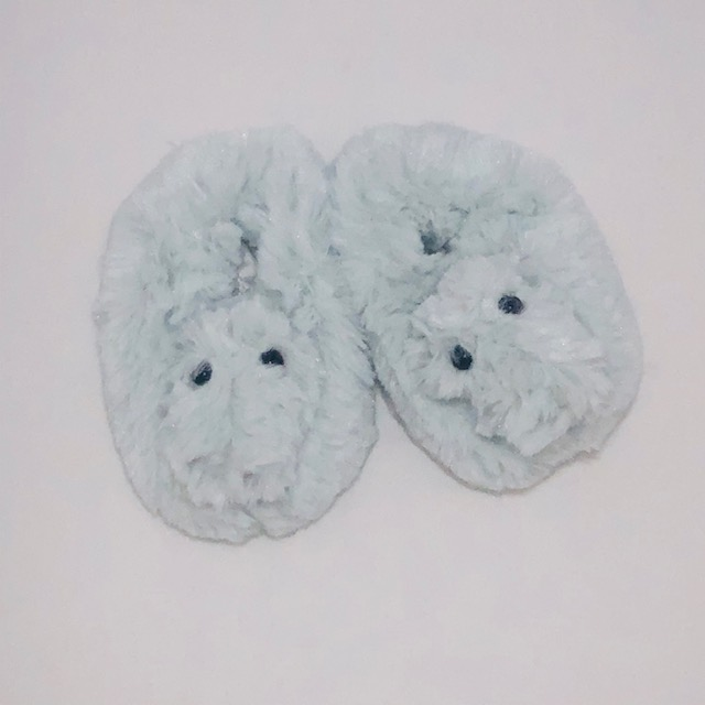 FLUFFY CROC-A-SAURUS SOFT SLIPPERS