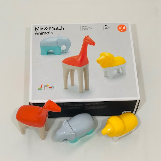 KidO MIX & MATCH ANIMALS - 9 PIECES