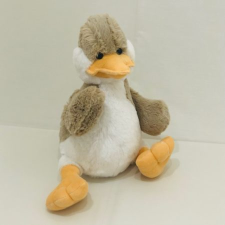 FLUFFY DUCK PLUSH TOY 30CM