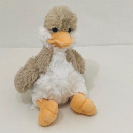 FLUFFY DUCK PLUSH TOY 20CM