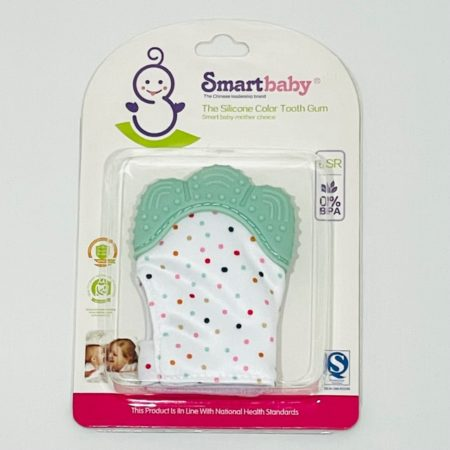 SILICONE BABY GREEN TOOTH GUM FOR TEETHING